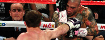 Size matters: Canelo wins hard-fought 12 round decision over Cotto