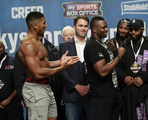 Whyte Turns His Back On Joshua