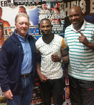 Tete Signs Promotional Deal With Frank Warren