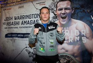 Warrington Defends Title Against Hyland