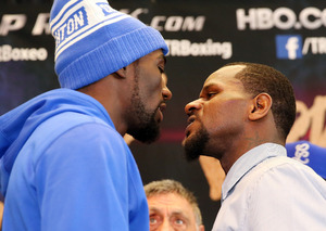 Crawford And Lundy Weigh In In New York