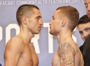 Video: Frampton And Quigg Make Weight
