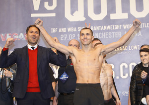 Scott Quigg Misses Weight But Fight Against Oscar Valdez Goes Ahead