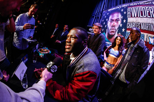 Deontay Wilder Statement Regarding Alexander Povetkin