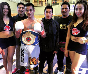 Moralde Wins Second WBF Title In General Santos City