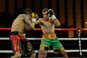 Van Heerden Edges Out Claggett