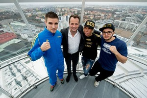 Stockholm Prepares For Massive Boxing Event