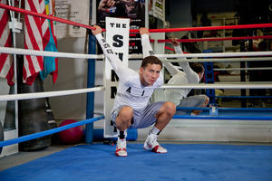 Golovkin Prepares For Wade Challenge