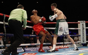 Smith Halts Mohoumadi/Fielding Wins Via Decision/ Cardle Draws