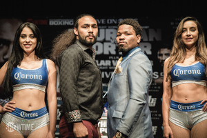 Thurman And Porter Promise Fireworks In Brooklyn