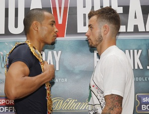 Eubank Snr And Coldwell Clash At Press Conference