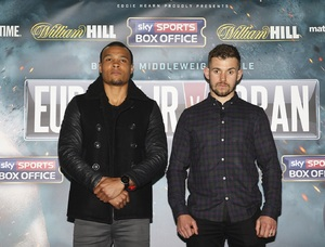 Eubank Jr To British Crown Against Doran