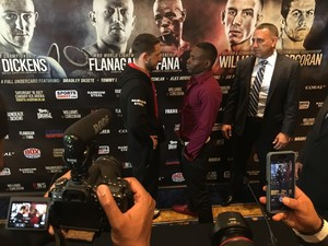 Rigondeaux And Dickens Come Face To Face