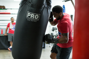 Breazeale Works Out In Ontario