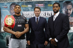 Joshua Vs Breazeale Final Quotes From London