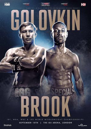 Golovkin Brook poster