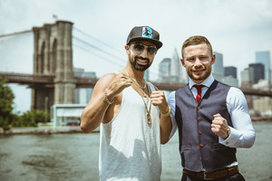 Santa Cruz And Frampton Look To Set Brooklyn Alight
