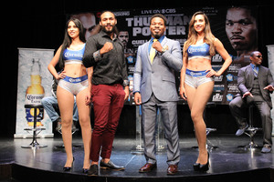 Thurman And Porter Excited To Be Fighting Saturday Night