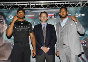 Joshua And Breazeale Ready To Rumble