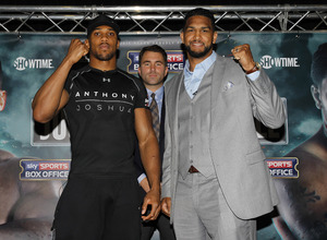 Joshua Vs Breazeale Heats Up