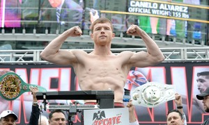 Alvarez Dominates Chavez Jr, Golovkin Up Next