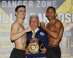 Crolla And Barroso Make Weight