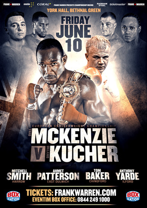 McKenzie To Challenge For European Title