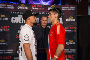 Guerrero And Peralta Meet Face To Face