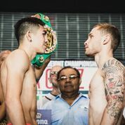 Frampton and Santa Cruz head to head