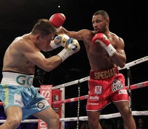 Golovkin Victorious Against Brook