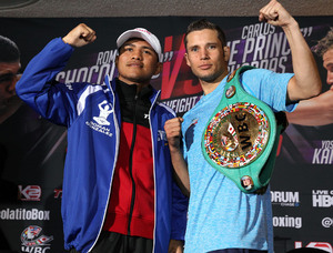 Cuadras held strong versus boxing's best.