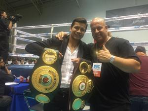 Flores Gets His Belt And Seeks Out Rigondeaux