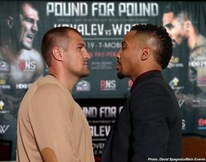 Kovalev: 'I'm Training For The Best Andre Ward'
