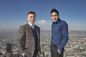 Frampton And Santa Cruz Come Face To Face In LA