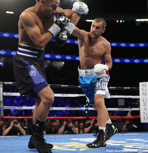 The judges favored Ward over Kovalev