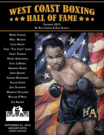 The 2nd West Coast Boxing Hall of Fame shines