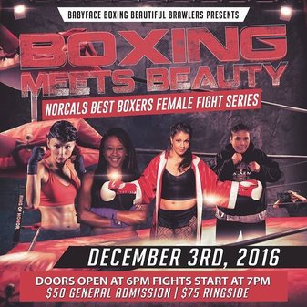 All female fight card this Saturday in Pacific, CA