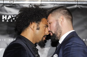 Video: Bellew And Haye Weigh In