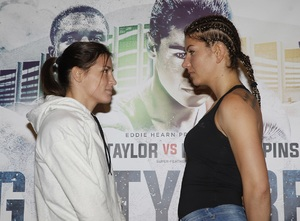 Taylor Hopes To Become Pioneer For Female Boxing