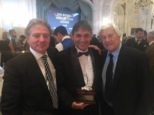 Sanigar Honoured By The British Boxing Writers Club
