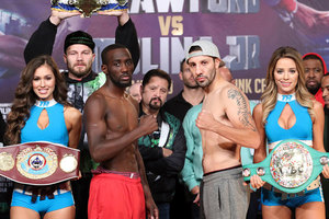 Molina 4lbs Overweight, Crawford On Weight