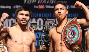 Pacquiao And Vargas Make Weight