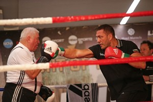 Pulev Tames Johnson In Sofia
