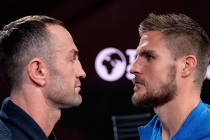 Skoglund And Shala Come Face To Face