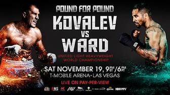 Looking ahead, boxing returns with a bang in November