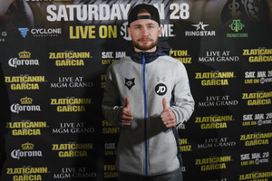 Frampton And Santa Cruz Arrive In Vegas