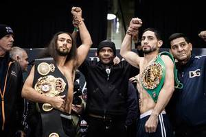 Video: Garcia And Thurman Make Weight In Brooklyn