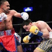Thurman Unifies Titles Via Split Decision Over Garcia in Brooklyn