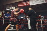 Garcia works out pic Rosie Cohe Showtime