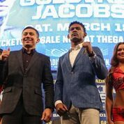 Golovkin And Jacobs Come Face To Face In New York